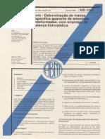 NBR 10838_88 (MB-2887) - Solo - Determinação Da Massa Específica Aparente de Amostras Indeformadas, Com Emprego Da Balança Hidrostática - 4pag