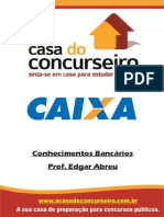 Apostila Caixa Economica Federal ConhecimentosBancários EdgarAbreu5