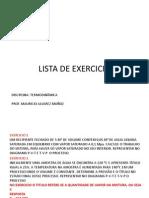 Exercicios Trabalho e Calor