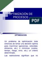 Optimización de Procesos y Lm 2013(1)