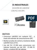 Labview Opc