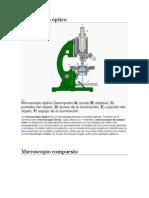 Microscopio óptico JOSUEE