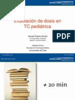 Evaluación de Dosis en CT Pediátrico