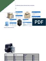 Capacidades y Medidas Rotoplas y Rotomex