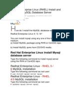 Redhat Enterprise Linux