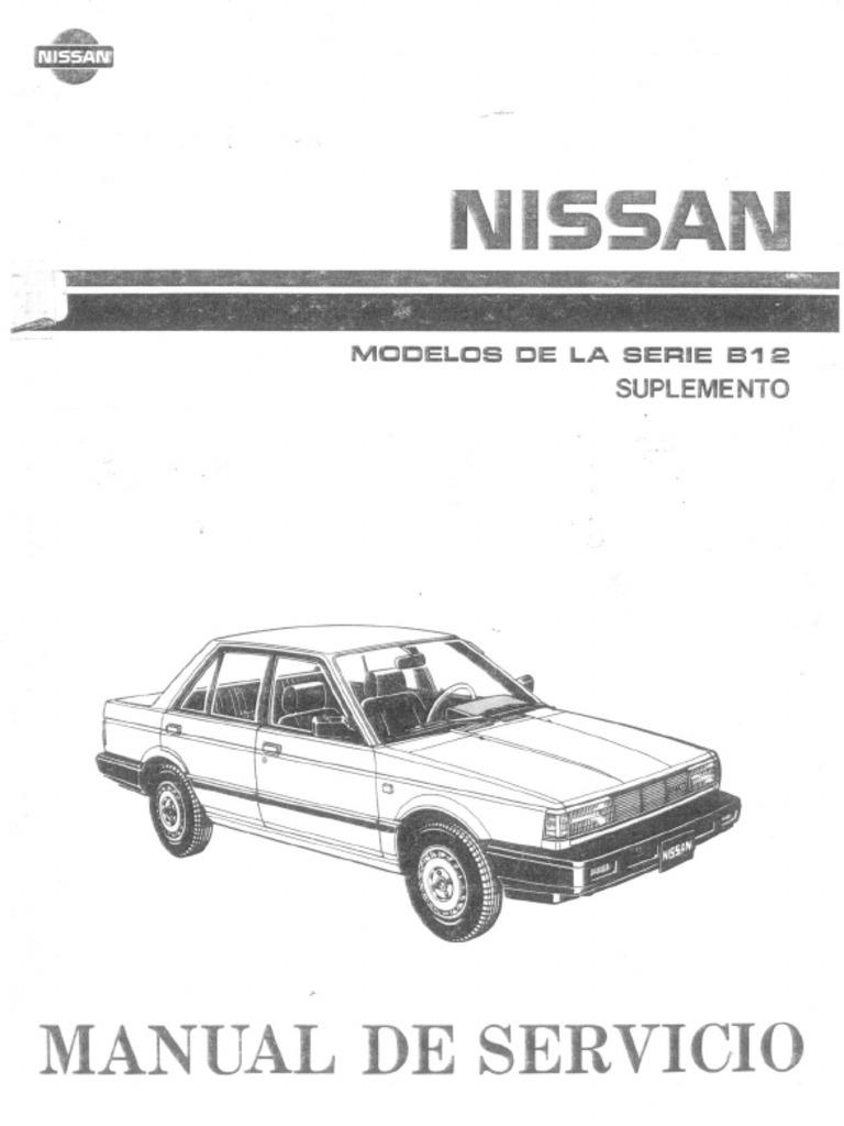 manual nissan b12 rh scribd com Champagne Nissan Sentra B13 Nissan Sentra B11