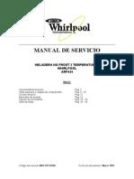 Manual Técnico Whirpool ARF434