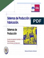 Sistema de Produccion y Fabricacion