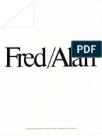 Fred/Alan new business brochure.
