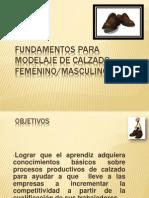 Fundamentos Para Modelaje de Calzado Femenino Sesion de Clases