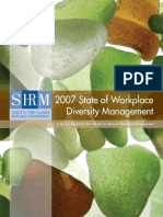 The State of Diversity Managment Surevey Report