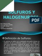 Sulfuros y Halogenuros