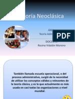 Teoria Neoclasica de La Administracion