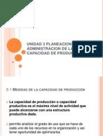 Unidad 3 Planeacion y Administracion de La Capacidad Sacnicte