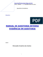 Auditoria Evidencia