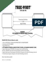TT True-Pivot 20-19E Instr