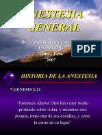 Anestesia General Tipos
