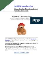 100 Christmas Cracker Jokes from Hot100ChristmasToys.com