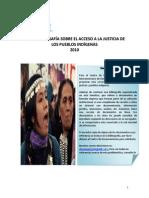 Acceso a La Justicia y Pueblos Indígenas