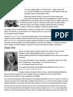 Biografías, Representantes Del Cubismo
