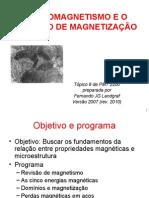 Pmt2200.Aula8.2010.Magnetismo