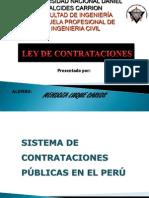 Ley de Contrataciones