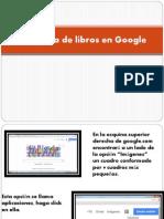 Búsqueda de Libros en Google
