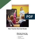 New Teacher Survival Guide