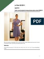 Wrap Dress Plus Size 022011 Original