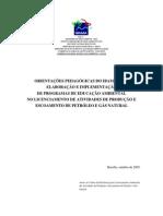 Orientações para Educação Ambiental no licenciamento
