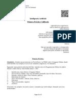 Práctica IA Primera Práctica 2014-I