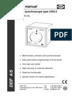 CSQ-3 Users Manual 4189340263 UK