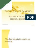Bdo Internet Banking
