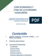 Analisis Economia Hondureña Mgs Guillermo Matamoros