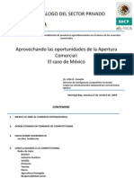 Presentación 8. Carvallo Aprovechando Las Oportunidades de La Apertura Comercial Caso Mexico