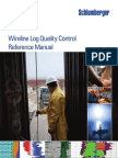 Wireline Log Quality Control Reference Manual