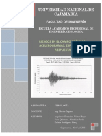 Acelerogramas y Espectros de Rpta