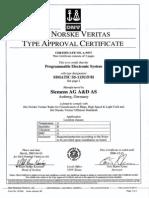 Certificado Siemens 115