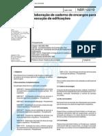 NBR 12219_92 - Elaboração de Caderno de Encargos Para Execução de Edificações - 4pag