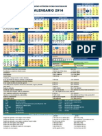 Calendario uabcs