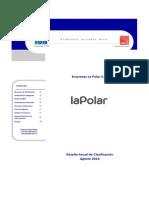 La Polar - Reseña Anual de Clasificación - Agosto 2013