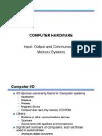 13 Input Output Memory