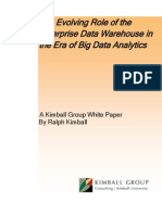 1597 EDW Big Data Analytics Kimball