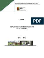Final Med Cp5400 Handout(2) (1)