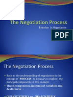 The Negotiation Process, Emotion in Negotiation