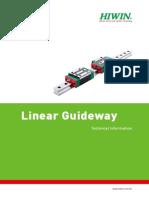 Linear Guideway (E)