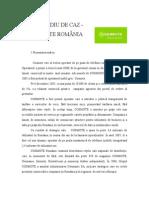 studiu de Caz-cosmote Romania