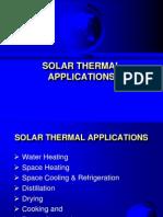 SolarThermal Applications