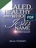 Healed, Healthy, Whole
