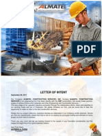 ALMATEL Construction Services Inc Company Profile